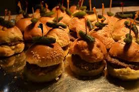 kids party food ideas miniburgers