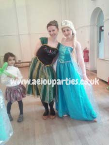 Deluxe Frozen Party in London